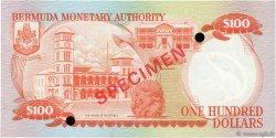 100 Dollars BERMUDES  1982 P.33s NEUF