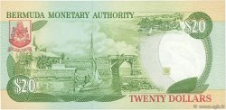 20 Dollars BERMUDES  1989 P.37b NEUF