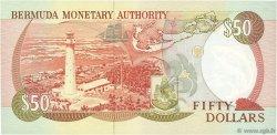 50 Dollars BERMUDES  1989 P.38 NEUF