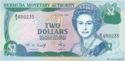 2 Dollars BERMUDES  1997 P.40Ab NEUF