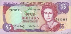 5 Dollars BERMUDES  1996 P.41c NEUF