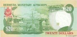 20 Dollars BERMUDES  1996 P.43a NEUF