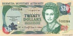 20 Dollars BERMUDES  1997 P.47 NEUF