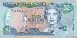 2 Dollars BERMUDES  2000 P.50a NEUF