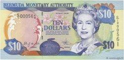 10 Dollars BERMUDES  2000 P.52a NEUF