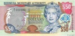 50 Dollars BERMUDES  2000 P.54a NEUF