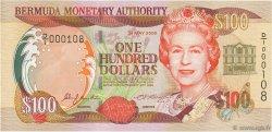 100 Dollars BERMUDES  2000 P.55a NEUF