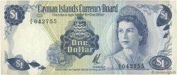 1 Dollar ÎLES CAIMANS  1972 P.01b TTB