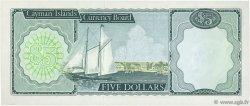 5 Dollars ÎLES CAIMANS  1972 P.02a SPL
