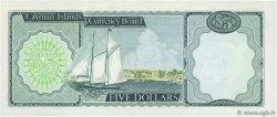 5 Dollars ÎLES CAIMANS  1972 P.02a pr.NEUF