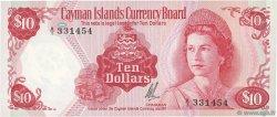 10 Dollars ÎLES CAIMANS  1972 P.03 NEUF