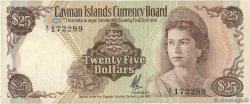 25 Dollars ÎLES CAIMANS  1972 P.04 TTB