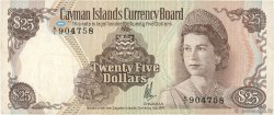25 Dollars ÎLES CAIMANS  1974 P.08a TTB