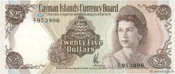 25 Dollars ÎLES CAIMANS  1974 P.08a SPL+