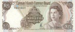 25 Dollars ÎLES CAIMANS  1974 P.08a pr.NEUF