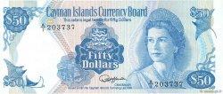 50 Dollars ÎLES CAIMANS  1987 P.10a NEUF