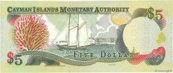 5 Dollars ÎLES CAIMANS  1998 P.22a pr.NEUF