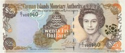 25 Dollars CAYMANS ISLANDS  1998 P.24 UNC