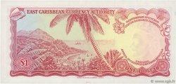 1 Dollar CARAÏBES  1965 P.13b SUP