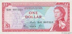 1 Dollar CARAÏBES  1965 P.13c SUP