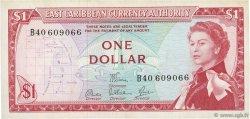 1 Dollar CARAÏBES  1965 P.13d TTB+