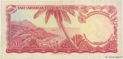 1 Dollar CARAÏBES  1965 P.13d TTB