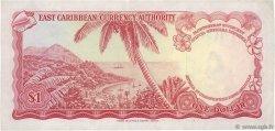 1 Dollar CARAÏBES  1965 P.13e TTB+