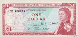 1 Dollar CARAÏBES  1965 P.13e pr.NEUF