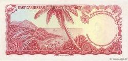 1 Dollar CARAÏBES  1965 P.13f SUP