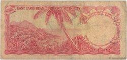 1 Dollar CARAÏBES  1965 P.13g B+