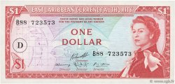 1 Dollar CARAÏBES  1965 P.13i pr.NEUF