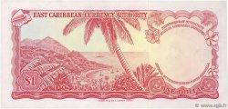 1 Dollar CARAÏBES  1965 P.13l SUP