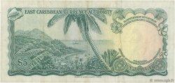 5 Dollars CARAÏBES  1965 P.14d TB+