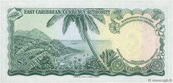 5 Dollars CARAÏBES  1965 P.14e NEUF