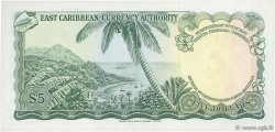 5 Dollars CARAÏBES  1965 P.14h pr.NEUF