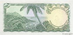 5 Dollars CARAÏBES  1965 P.14l pr.NEUF