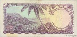 20 Dollars CARAÏBES  1965 P.15b TTB+