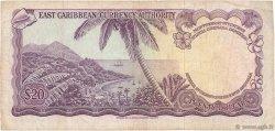 20 Dollars CARAÏBES  1965 P.15h TTB