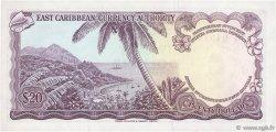 20 Dollars CARAÏBES  1965 P.15m NEUF