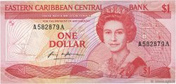 1 Dollar CARAÏBES  1985 P.17a NEUF