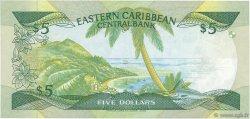 5 Dollars CARAÏBES  1986 P.18k NEUF