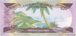 20 Dollars CARAÏBES  1987 P.19a NEUF