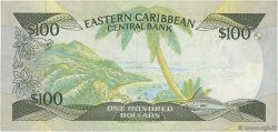 100 Dollars CARAÏBES  1986 P.20a TTB+