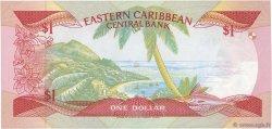 1 Dollar CARAÏBES  1988 P.21u pr.NEUF