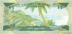 5 Dollars CARAÏBES  1988 P.22d NEUF