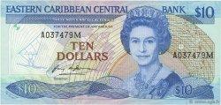 10 Dollars CARAÏBES  1985 P.23m NEUF