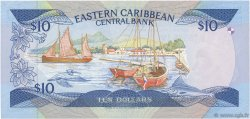 10 Dollars CARAÏBES  1985 P.23v1 NEUF