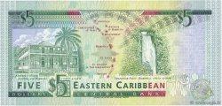 5 Dollars CARAÏBES  1993 P.26m NEUF