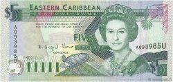 5 Dollars CARAÏBES  1993 P.26u NEUF