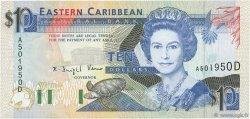 10 Dollars CARAÏBES  1993 P.27d NEUF